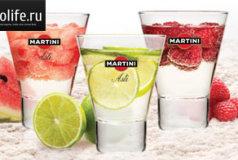 Рецепты коктейлей с мартини