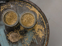 Ячменный самогон с дрожжами и без