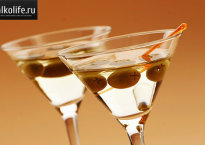 Имитация мартини своими руками