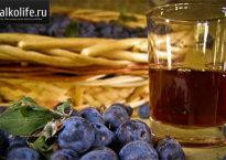 Домашнее вино из терна
