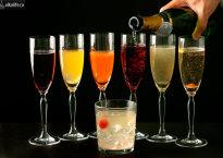Лучшие рецепты Коктейлей на основе Шампанского