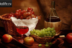 Виноградная наливка