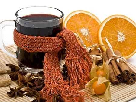 горячее вино с апельсинами