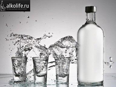 как развести спирт