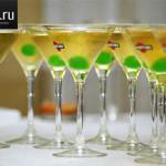 Как и с чем лучше пить мартини