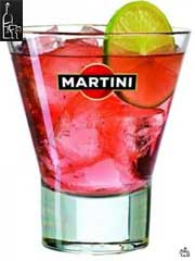 розовый мартини