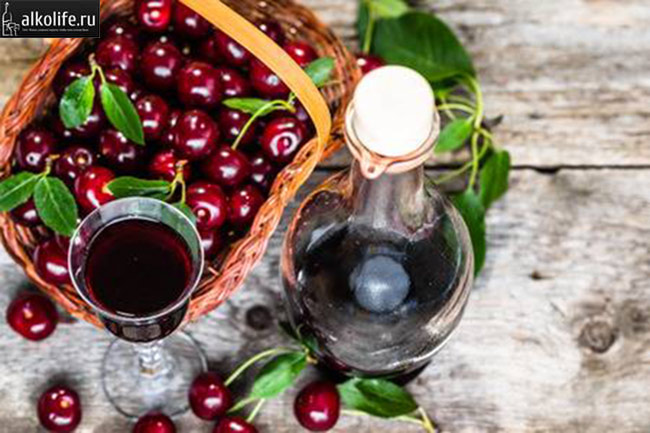 Концентрированное вишневое вино - Вишняк