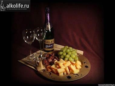 закуска для шампанского: фото