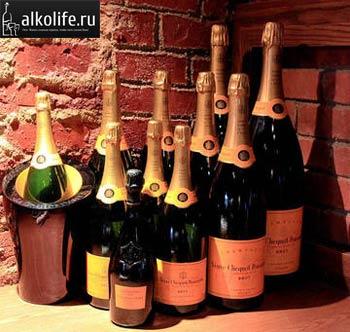 бутылки с шампанским