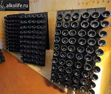 шампанское в подвале