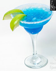 коктейль голубая маргарита