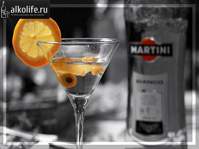 мартини с оливкой фото
