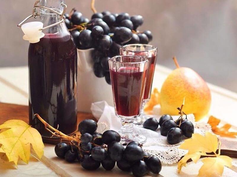 настойка из винограда фото