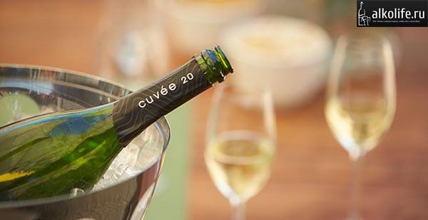 шампанское cuvee