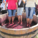 Разминание винограда