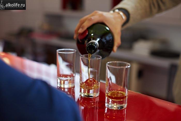 Правила пития ликера бенедиктин