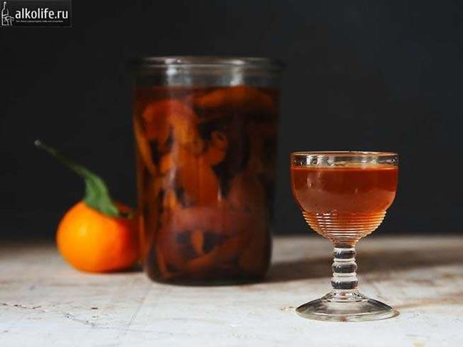 Пряный мандариновый ликер