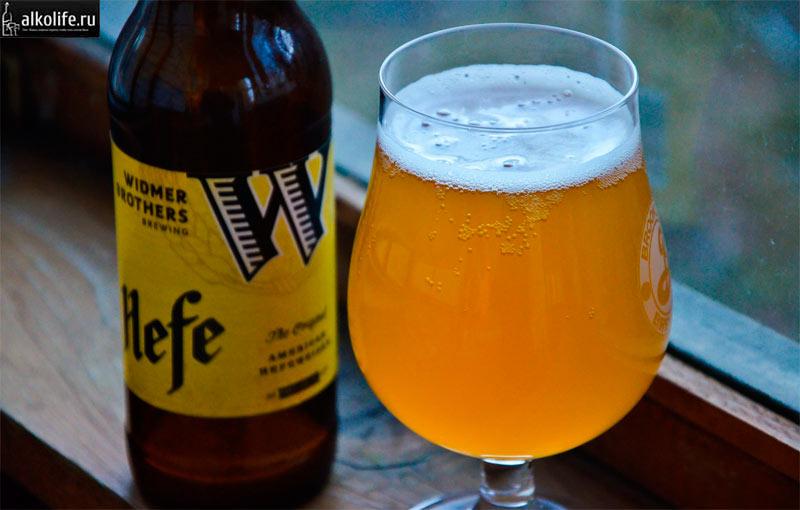 Американское белое пшеничное пиво