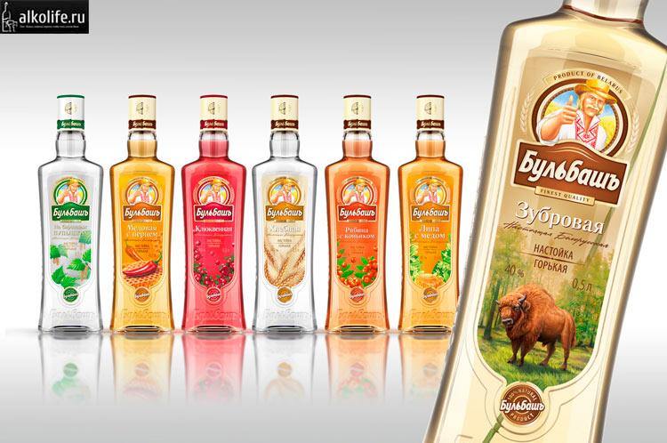 Белорусская зубровка бренда Бульбаш