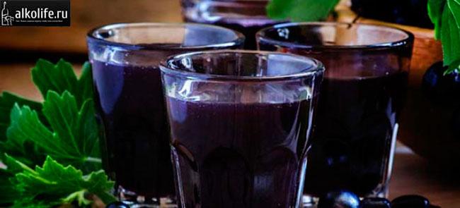 Домашняя черная водка