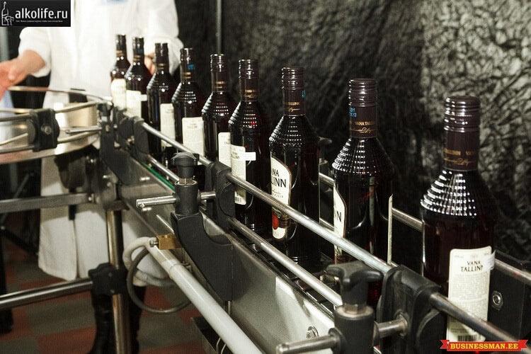 Ликер вана таллин на производстве