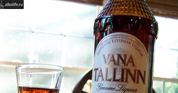 Вана Таллин налитый в стакан - фото