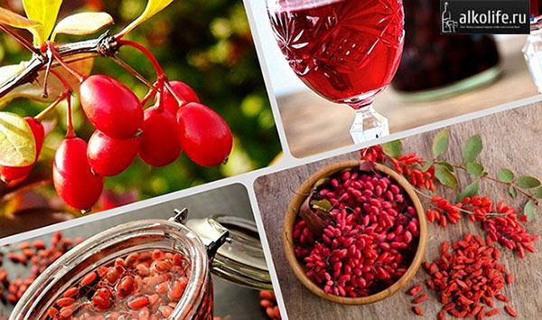 Барбарисовое вино