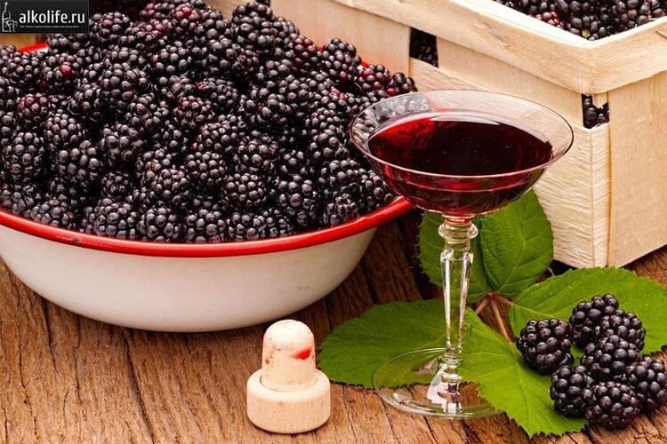 Домашнее ежевичное вино
