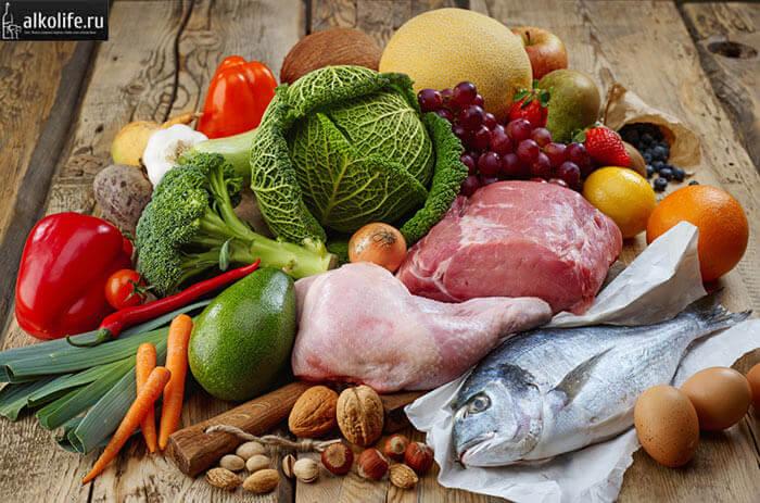 Разрешенные продукты при пивной диете