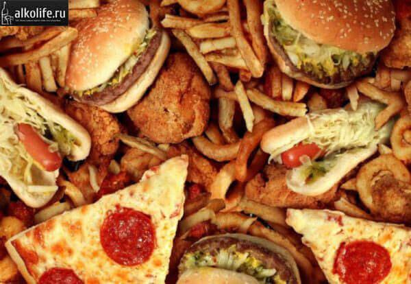 Запрещенный продукты при пивной диете
