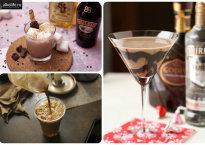 Рецепты приготовления коктейлей с шоколадным ликером