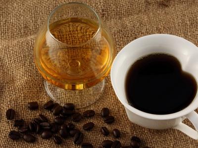как пить кофе с коньяком
