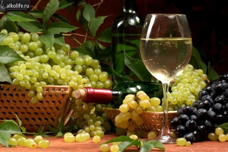 Вино из зеленого винограда