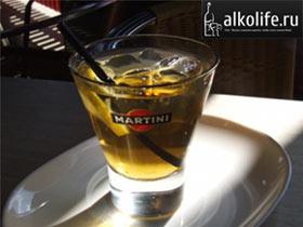 мартини с шампанским коктейль