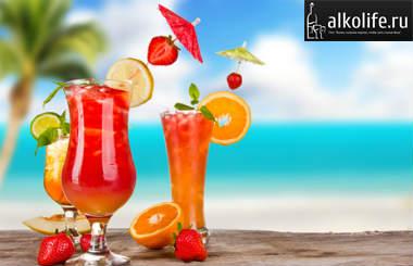 коктейль секс на пляже картинка
