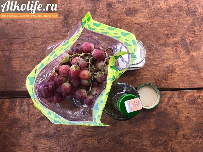 Состав виноградной настойки