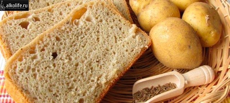 Хлеб и картошка