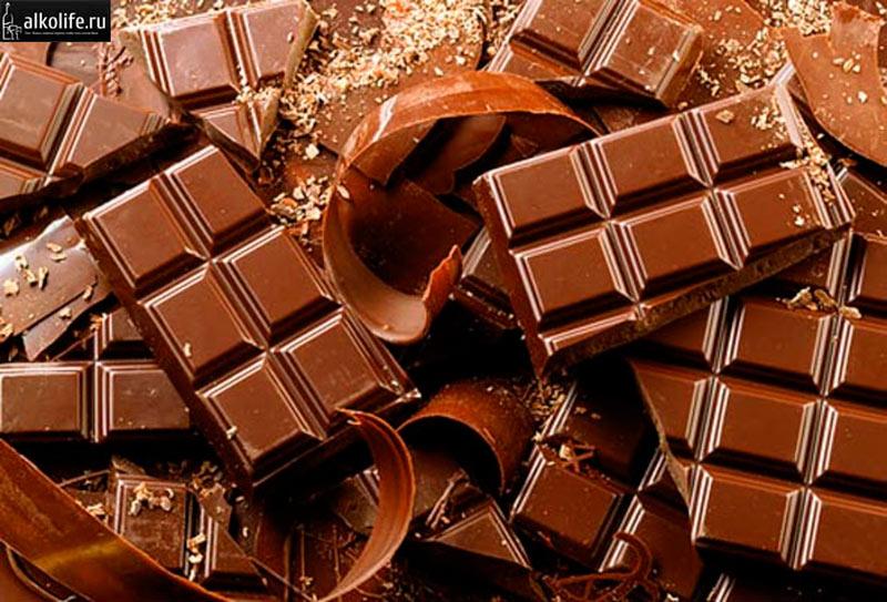 Шоколад для коньяка фото
