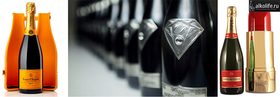 3 марки самого дорогого шампанского