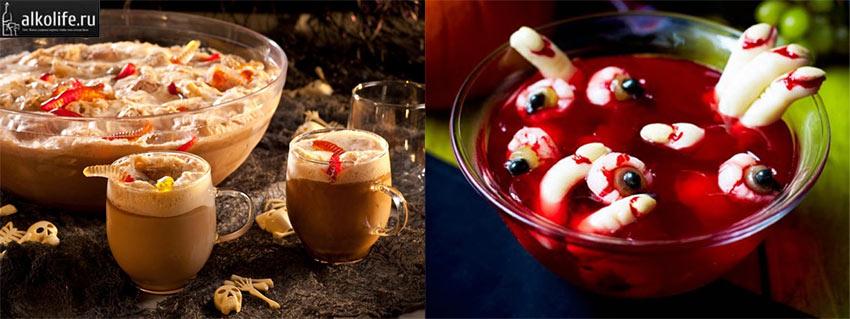 Использование желейного мармелада в коктейлях к Хэллоуину