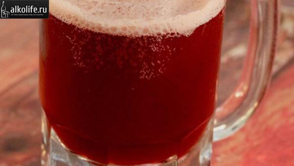 Пиво из вишни с кориандром