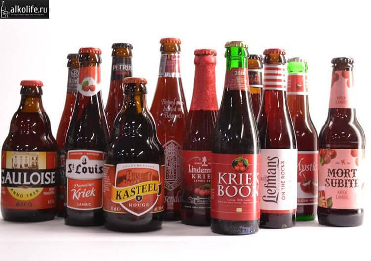 Виды пива Kriek