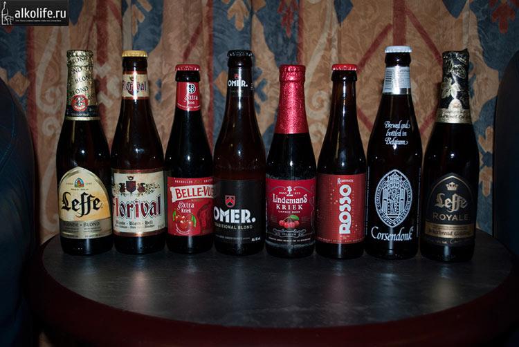 Виды вишневого пива