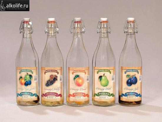 Фруктовая водка Палинка