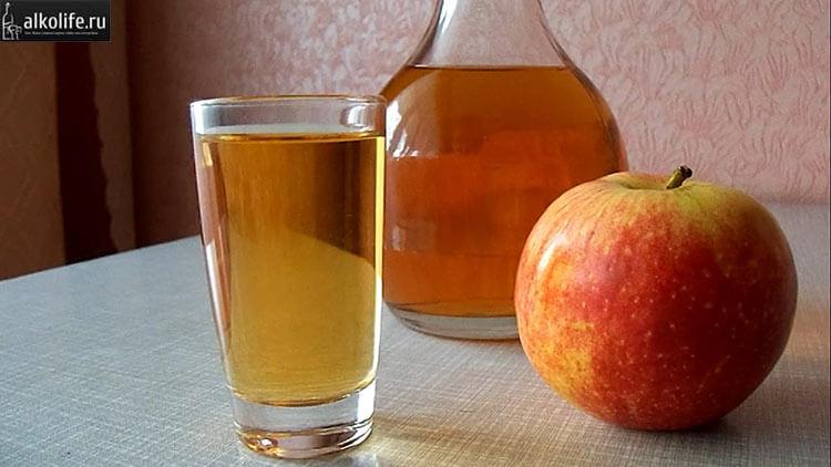 Классическая яблочная наливка