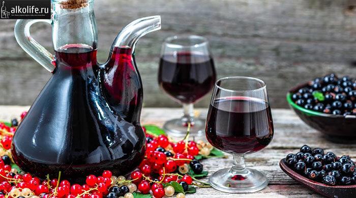Классическое вино из компота