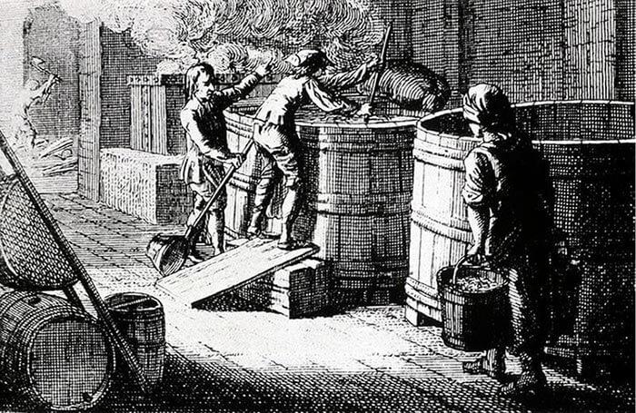 Приготовление пива в средневековой Европе